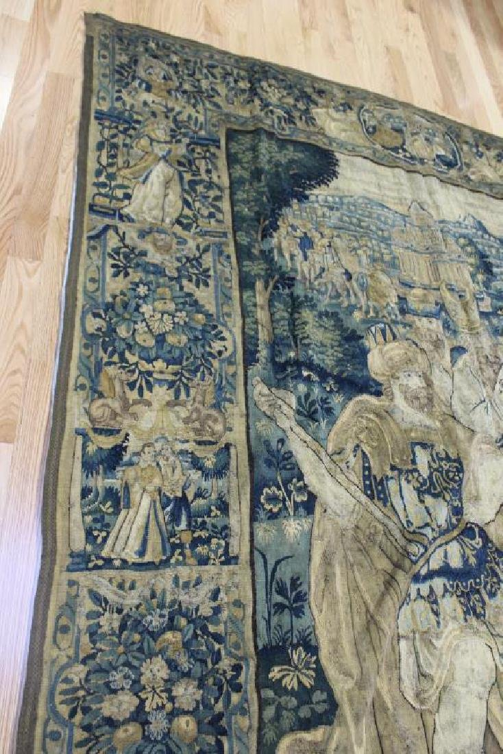 Magnificent Antique  Continental Tapestry - 4