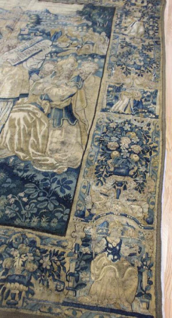 Magnificent Antique  Continental Tapestry - 8