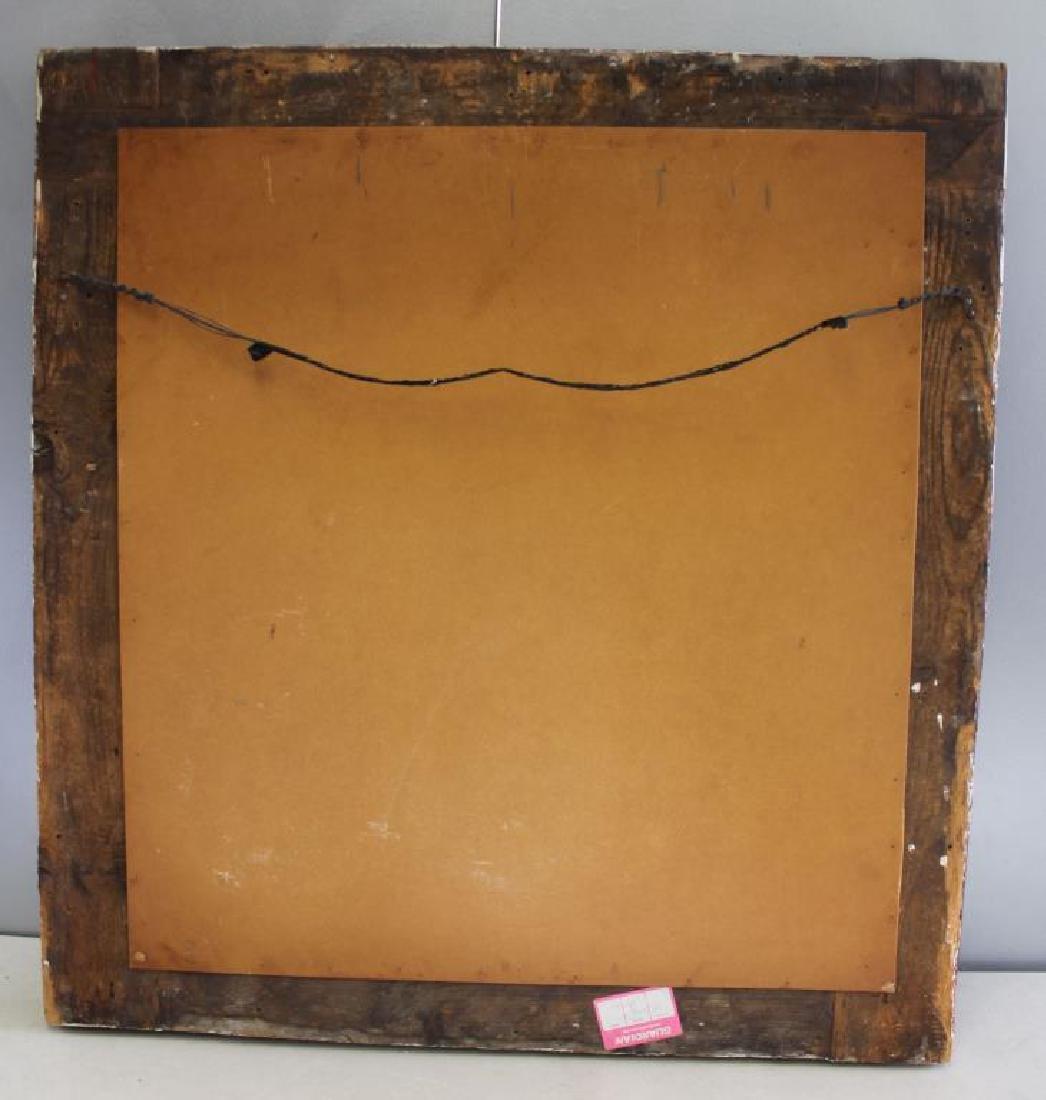 18 Century Italian Carved  Framed Mirror - 4