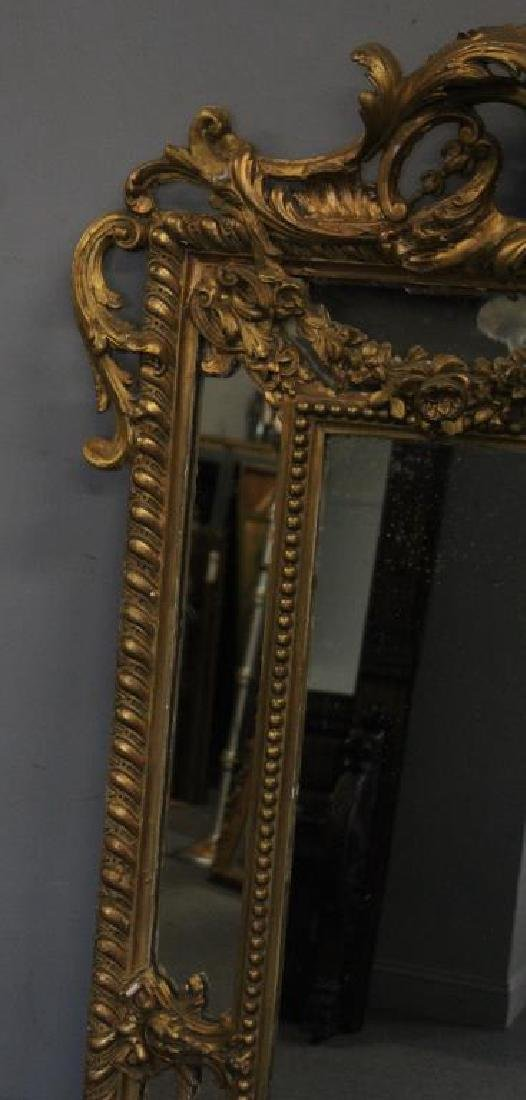 Large and Impressive 19th Century Carved Giltwood - 7