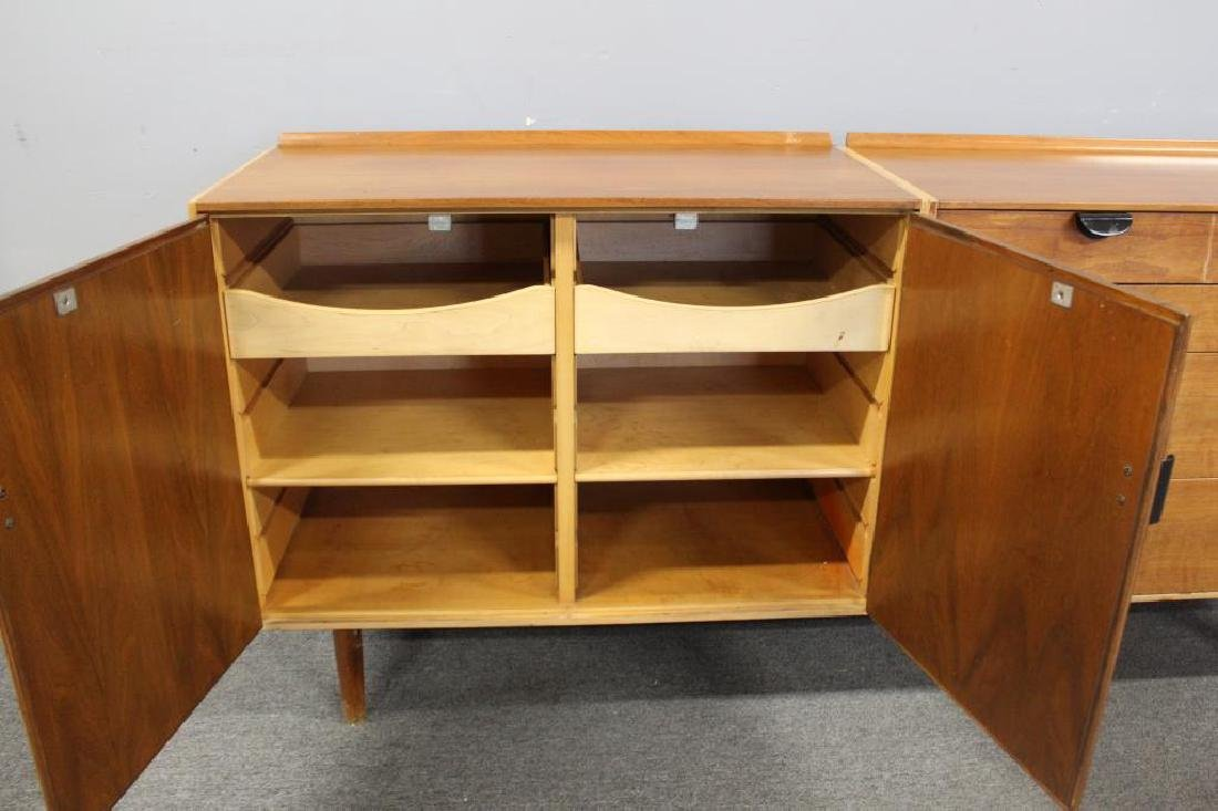 BAKER. Signed Midcentury Chests on Stand. - 10