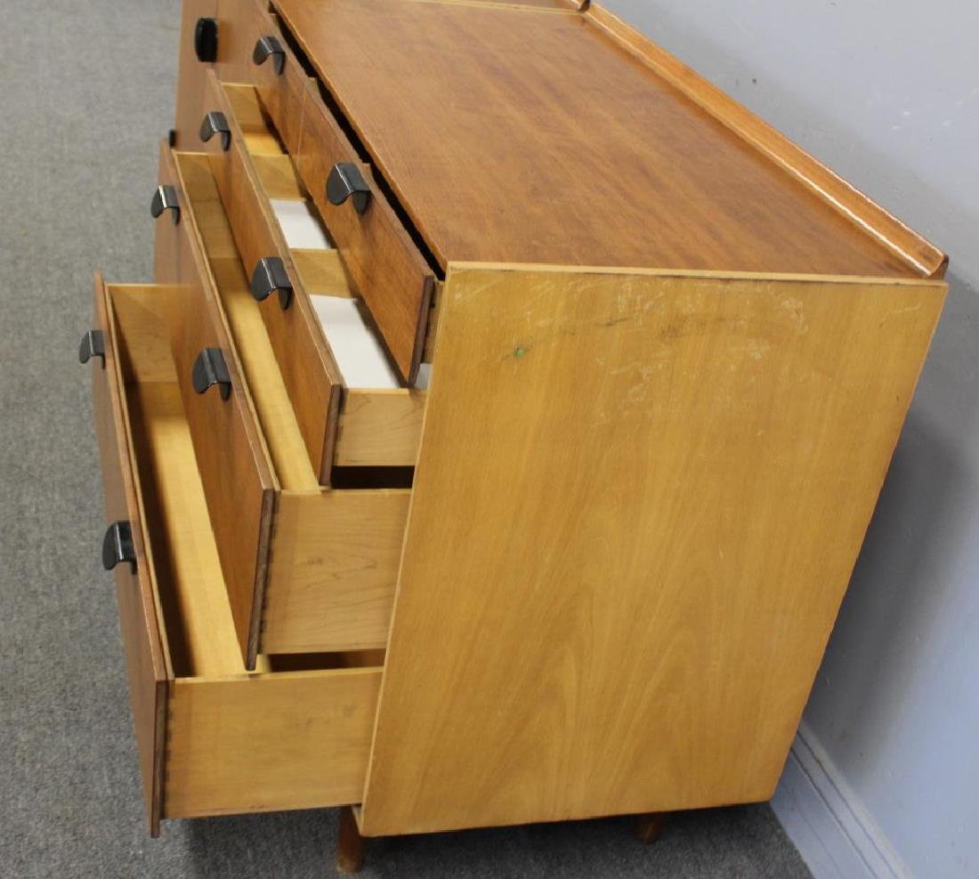 BAKER. Signed Midcentury Chests on Stand. - 8
