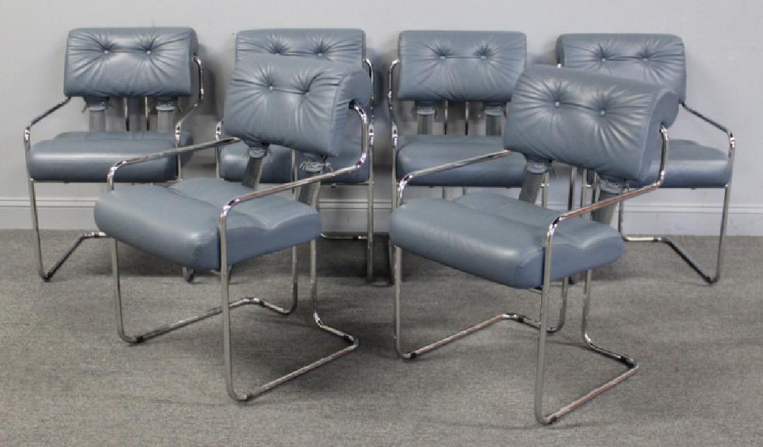 "Guido Faleschini. Set of 6 ""Tucroma"" Chairs. - 2"