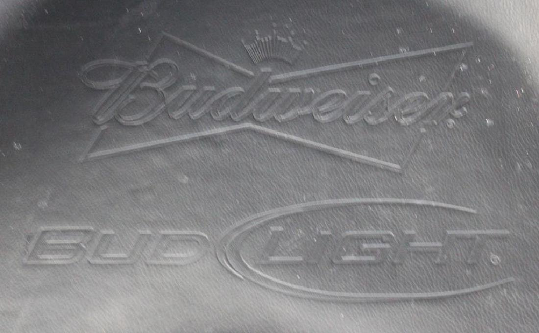 Vintage Budweiser Leather Baseball Glove Chair . - 5