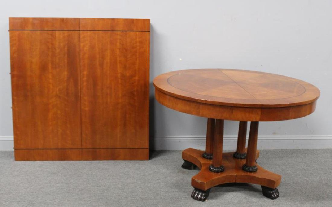 Signed Empire Style Dining Table