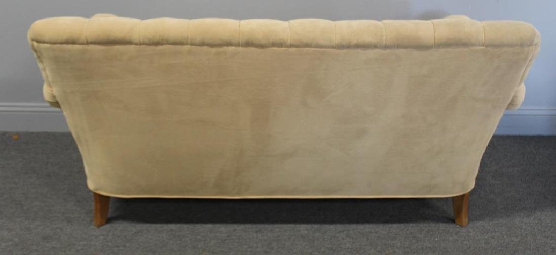Vintage Upholstered  Chesterfield Style Settee - 2