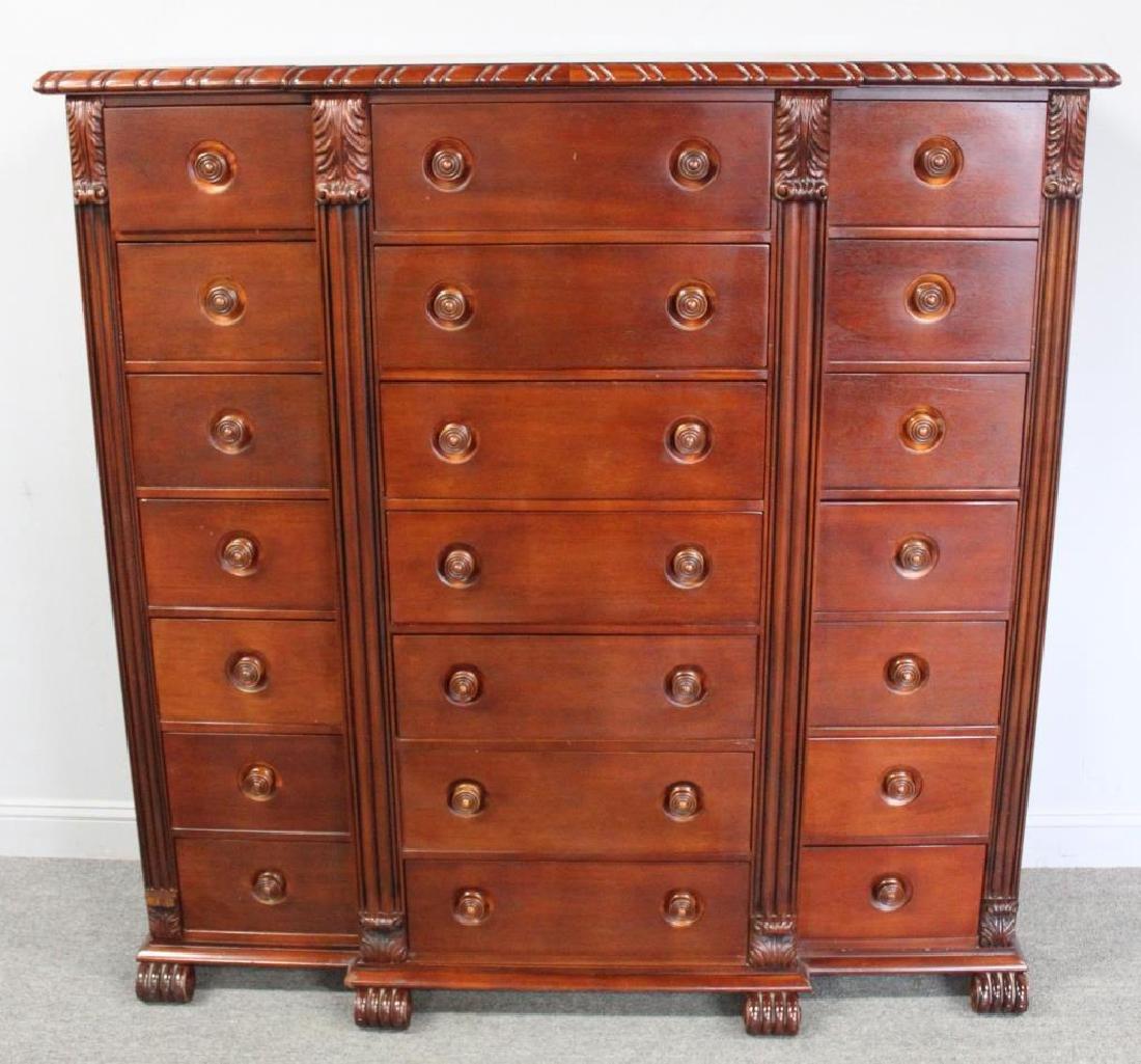 Ralph Lauren Mahogany Multi Drawer Cabinet