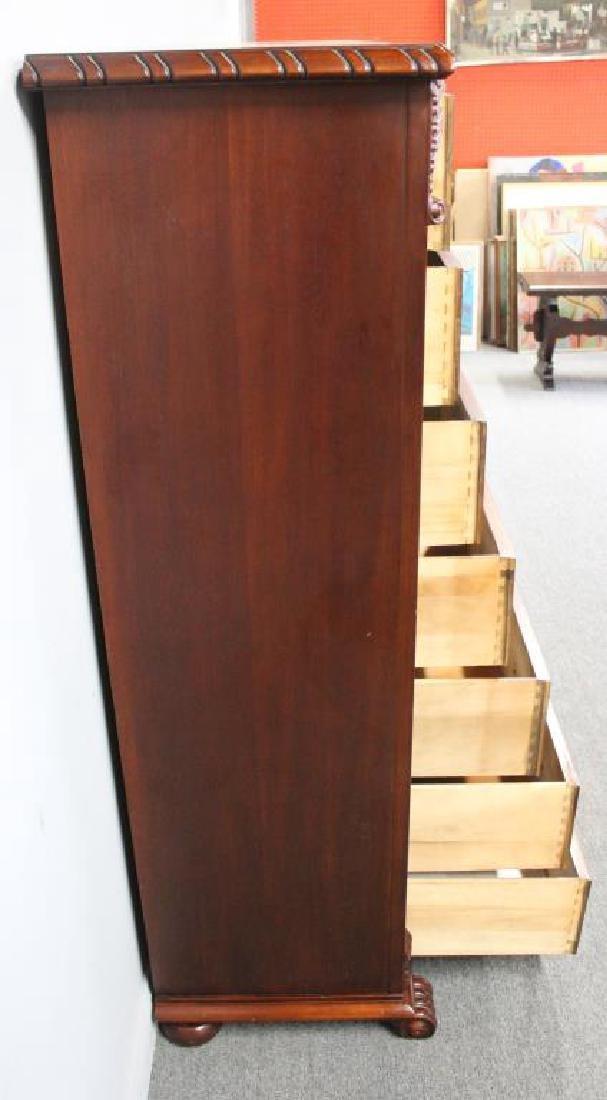 Ralph Lauren Mahogany Multi Drawer Cabinet - 5