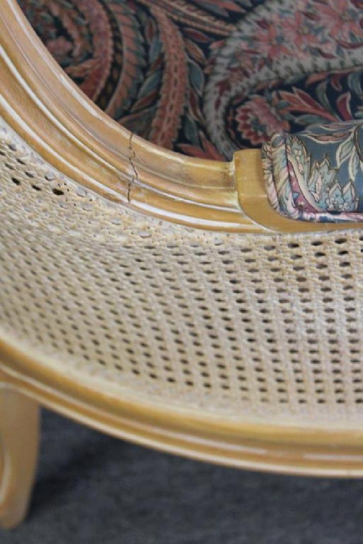 A Vintage Louis XV Style Caned Porter's Chair - 5