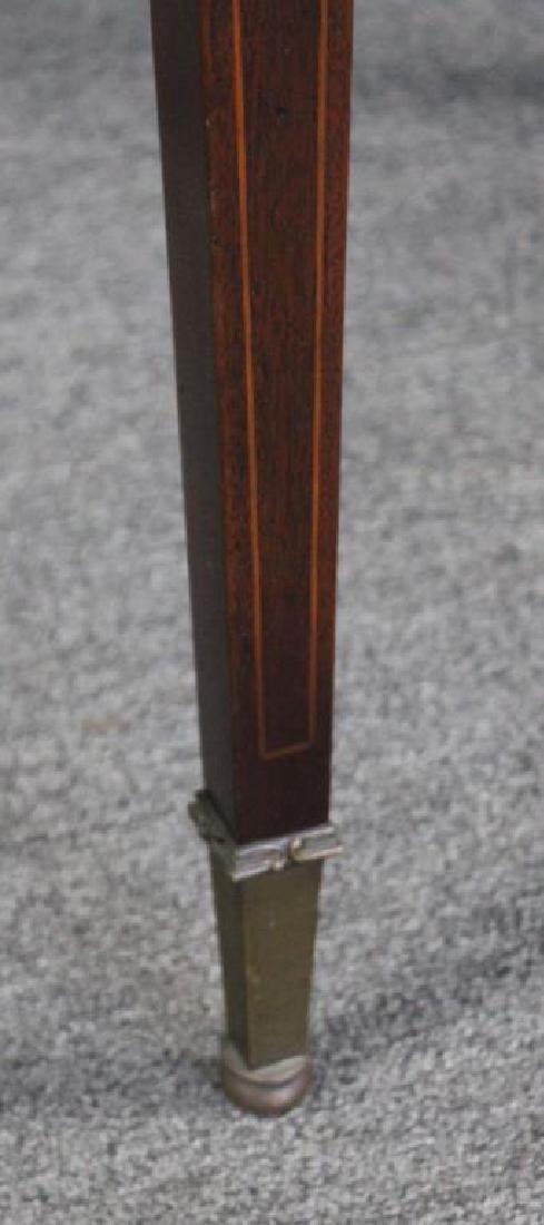 Antique  Mahogany Leathertop Table . - 3