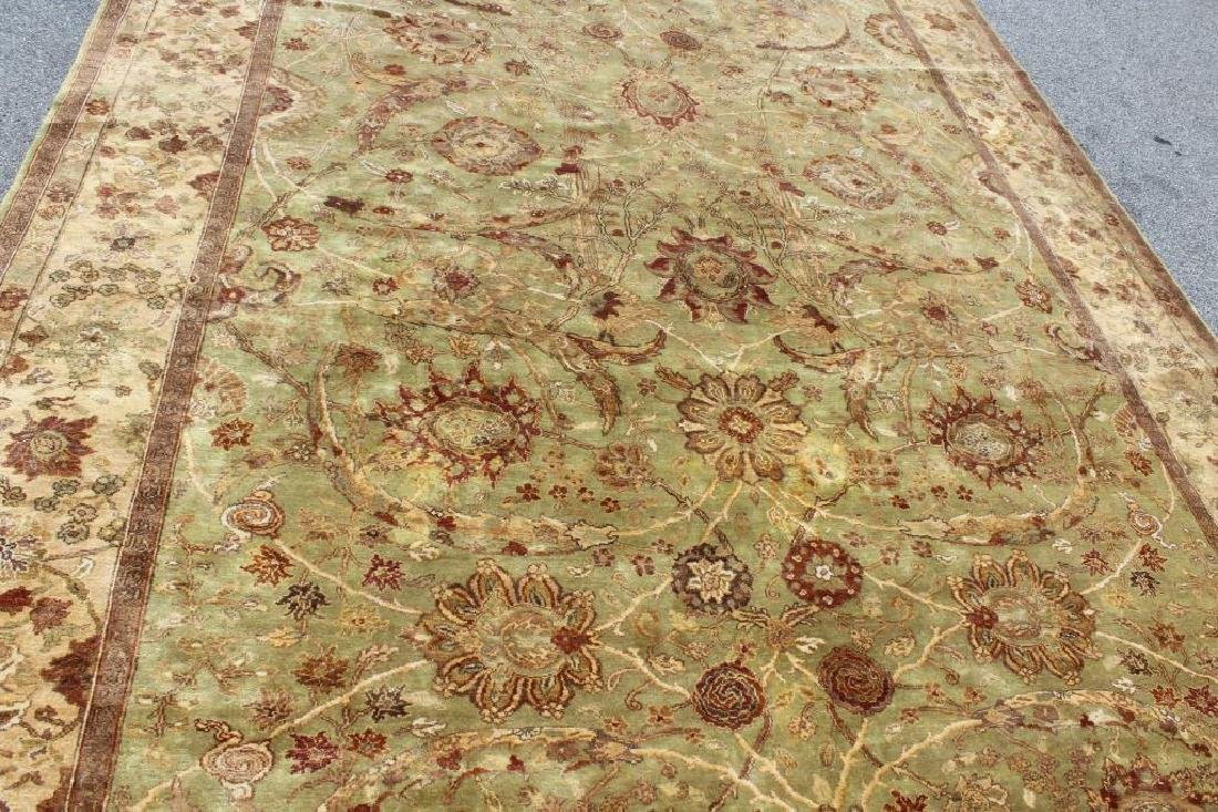 Finely Woven Vintage Handmade Roomsize Carpet. - 3