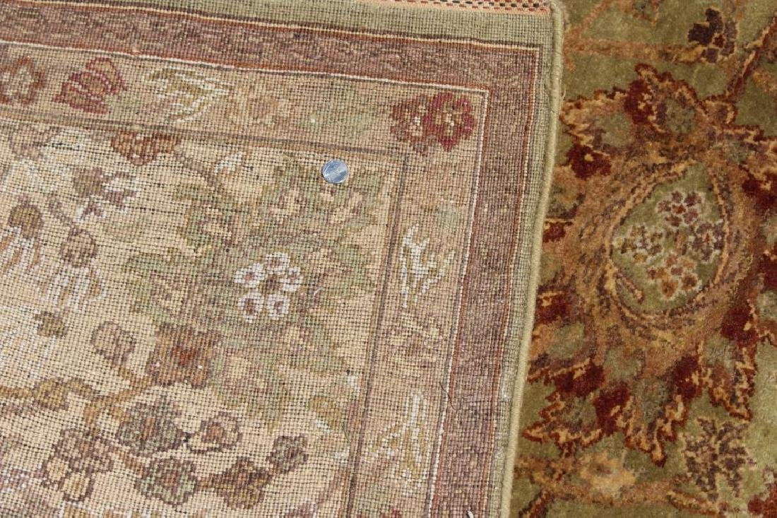 Finely Woven Vintage Handmade Roomsize Carpet. - 6