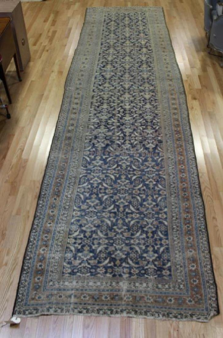 Large Antique and Finely Hand Woven Runner
