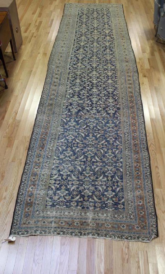 Large Antique and Finely Hand Woven Runner - 2
