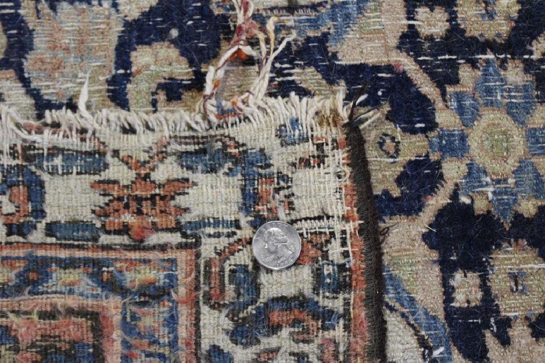 Large Antique and Finely Hand Woven Runner - 5