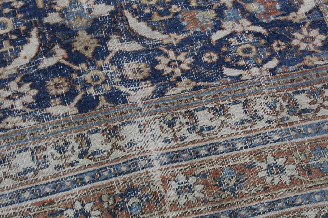 Large Antique and Finely Hand Woven Runner - 7