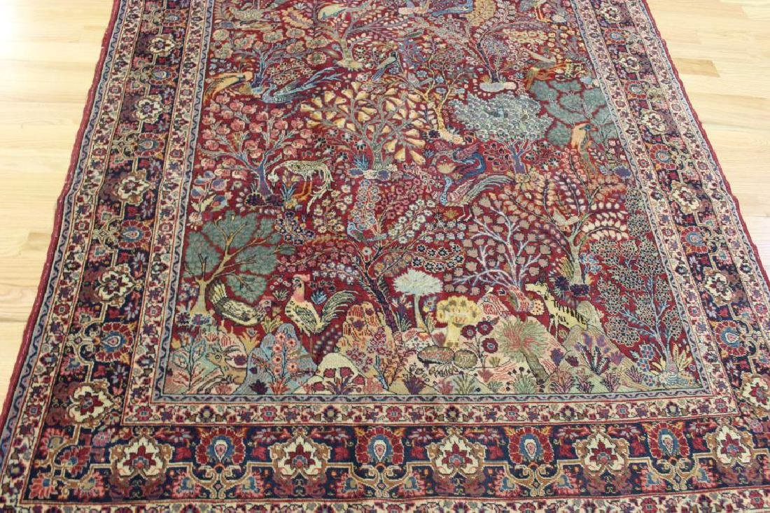 Antique and Finely Woven Area Carpet. - 2