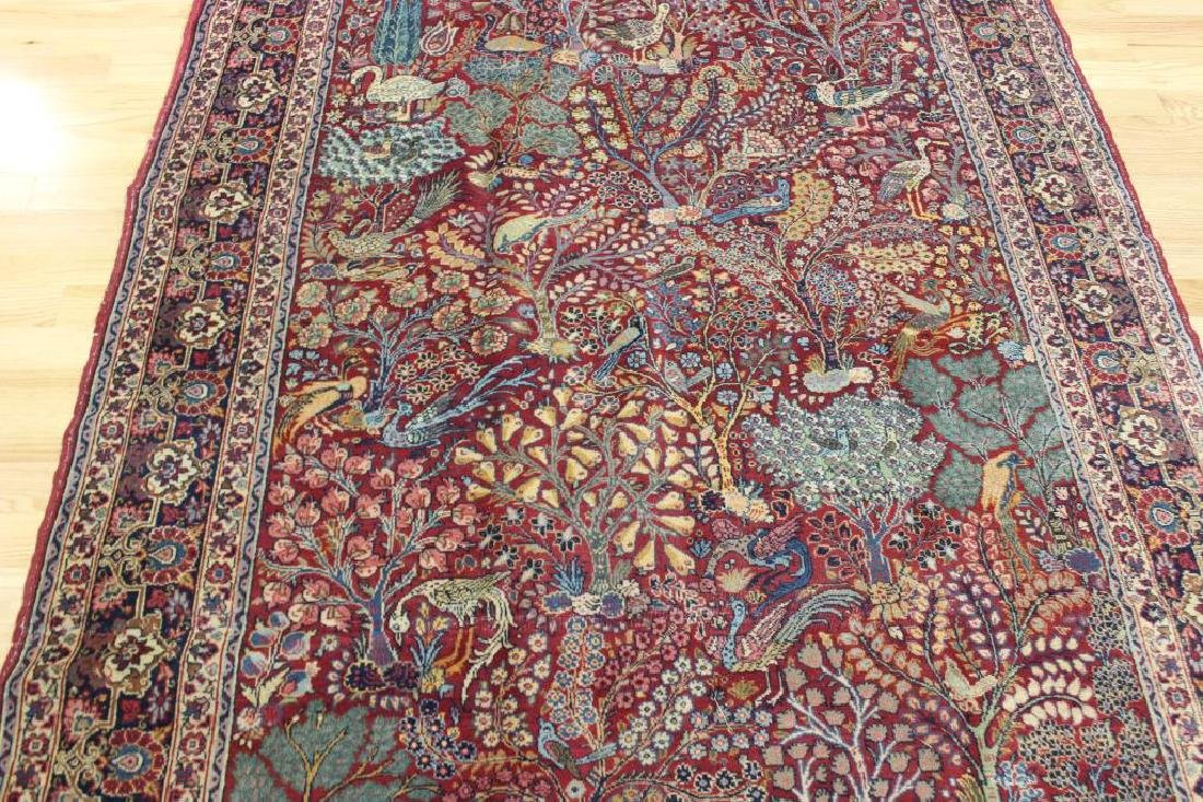 Antique and Finely Woven Area Carpet. - 3