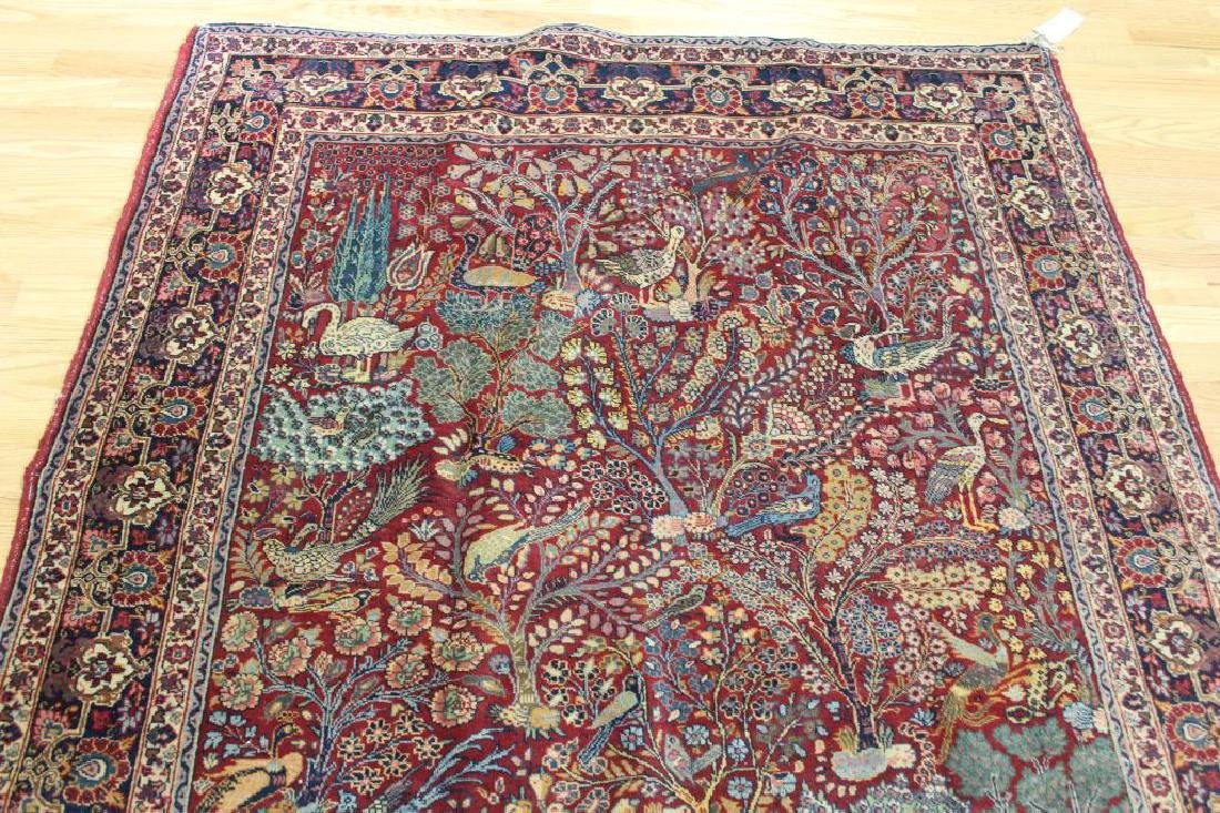 Antique and Finely Woven Area Carpet. - 4
