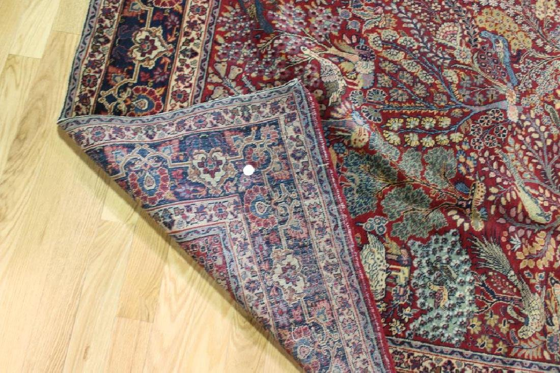 Antique and Finely Woven Area Carpet. - 5