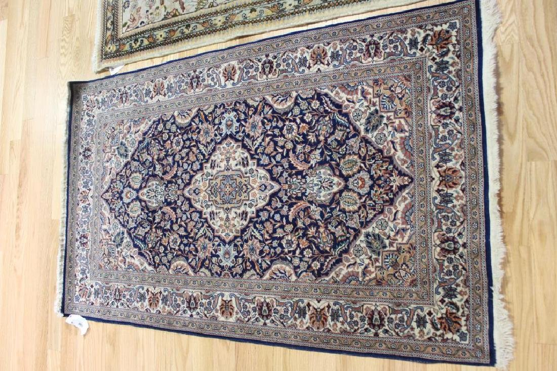 2 Antique and Finely Woven Area Carpets. - 2