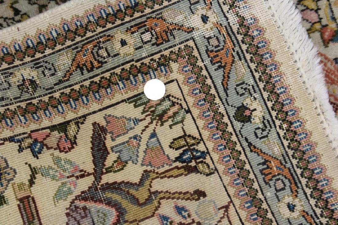 2 Antique and Finely Woven Area Carpets. - 6