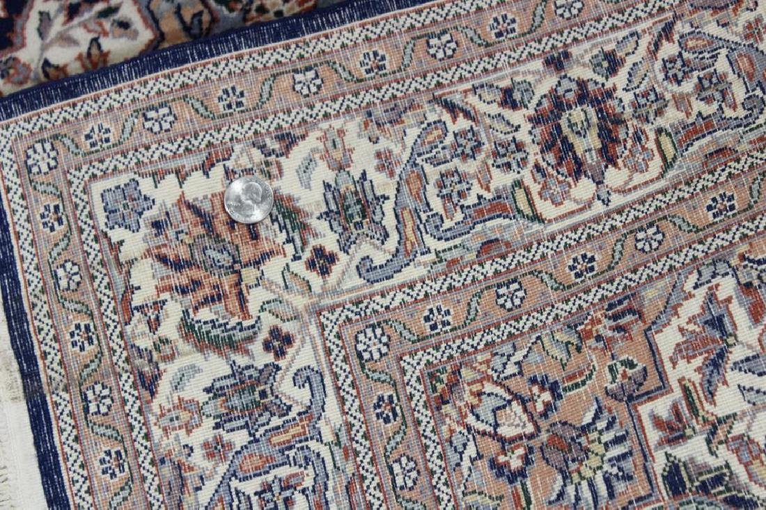 2 Antique and Finely Woven Area Carpets. - 7