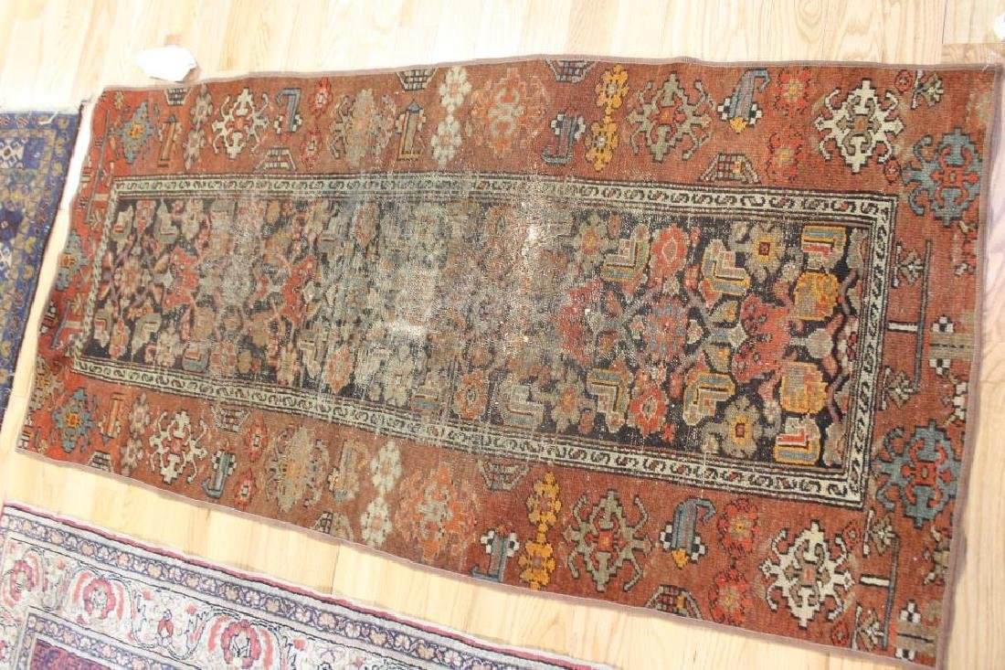 3 Antique and Finely Hand Woven Area Carpets. - 4
