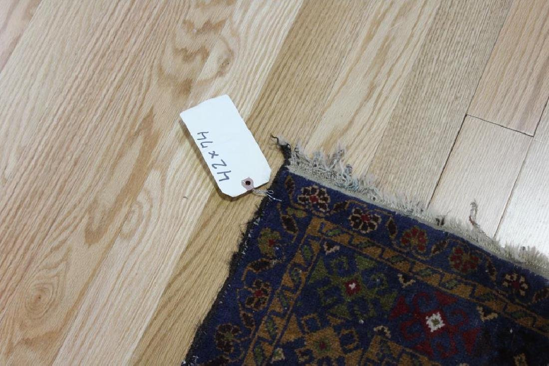3 Antique and Finely Hand Woven Area Carpets. - 6