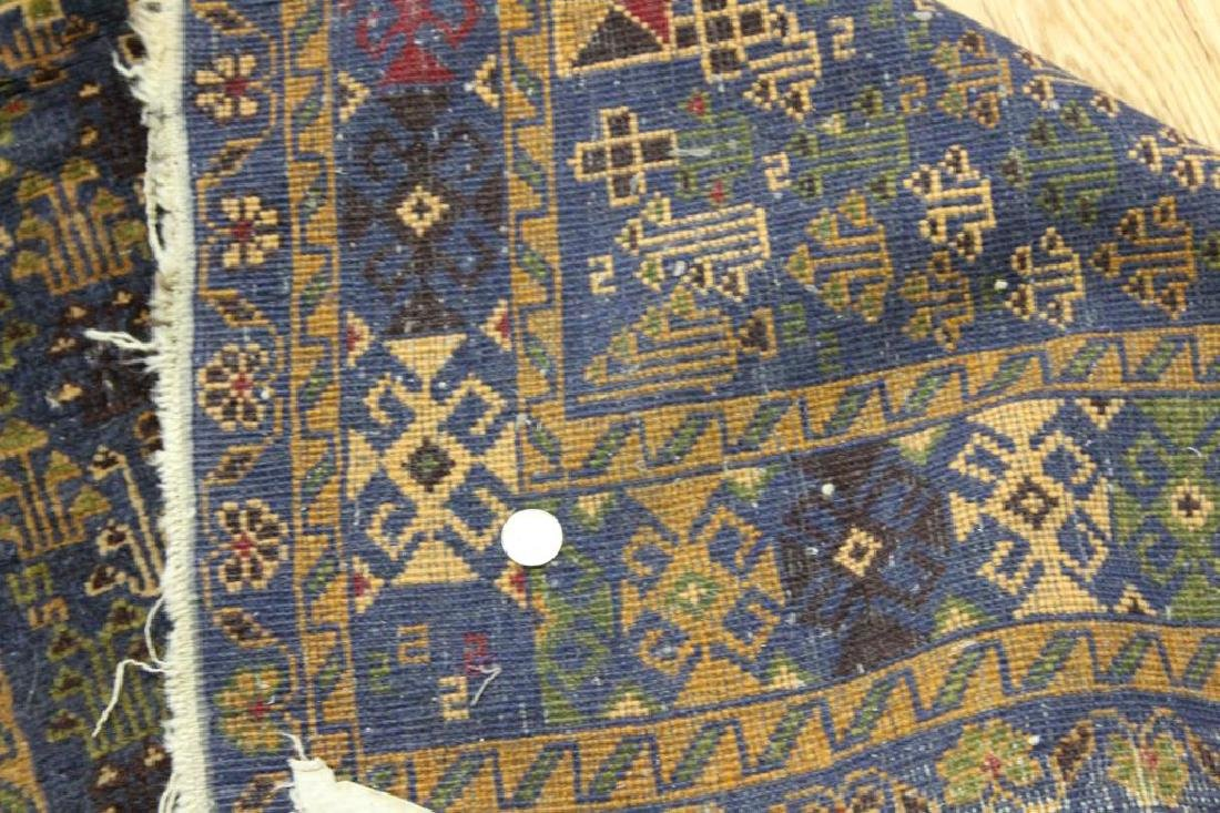 3 Antique and Finely Hand Woven Area Carpets. - 7