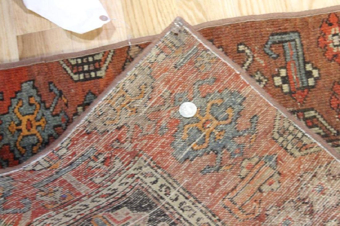 3 Antique and Finely Hand Woven Area Carpets. - 8
