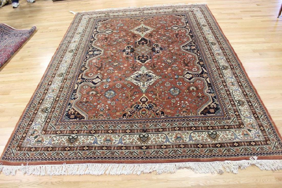 Vintage and Finely Hand Woven Heriz Style Roomsize