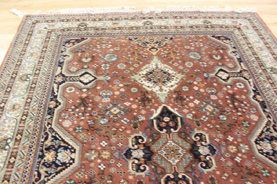 Vintage and Finely Hand Woven Heriz Style Roomsize - 4