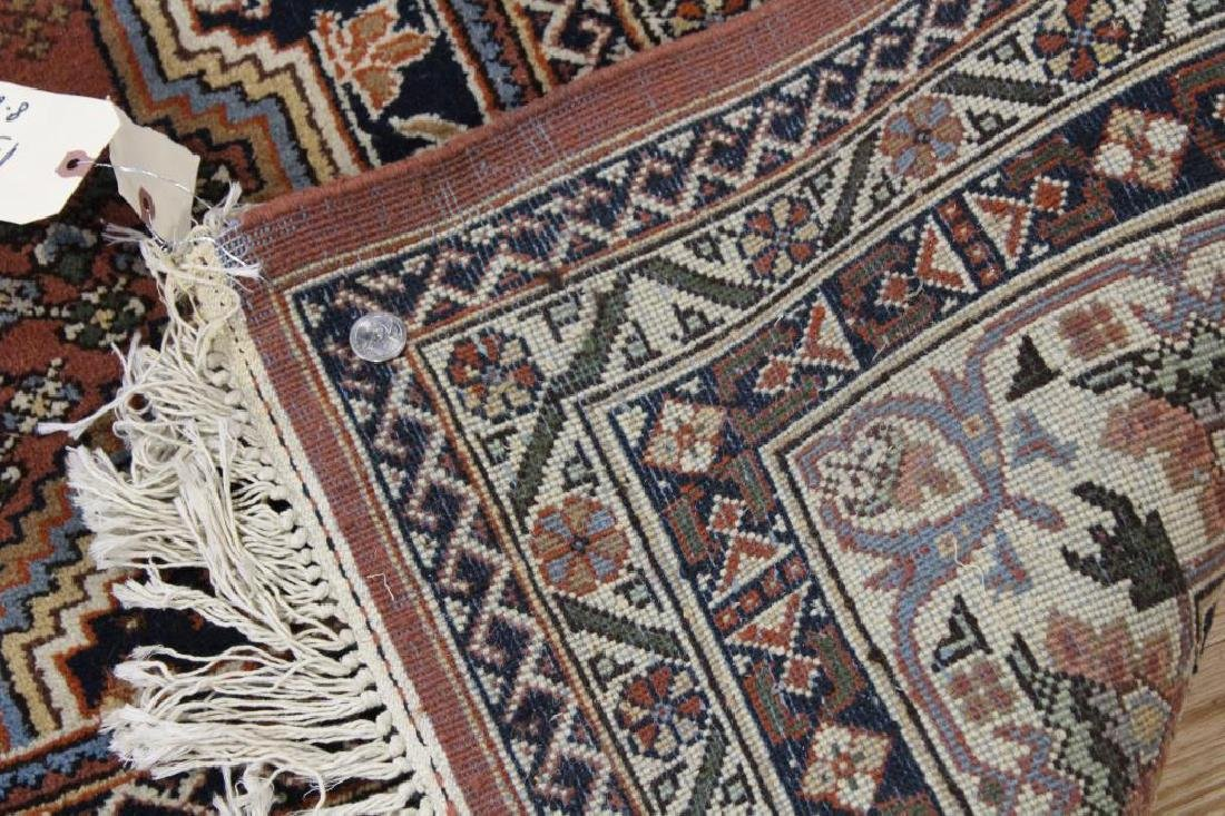 Vintage and Finely Hand Woven Heriz Style Roomsize - 5