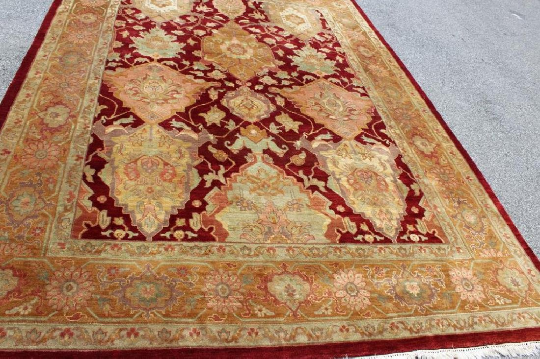 Finely Woven Vintage Roomsize Handmade Carpet. - 2