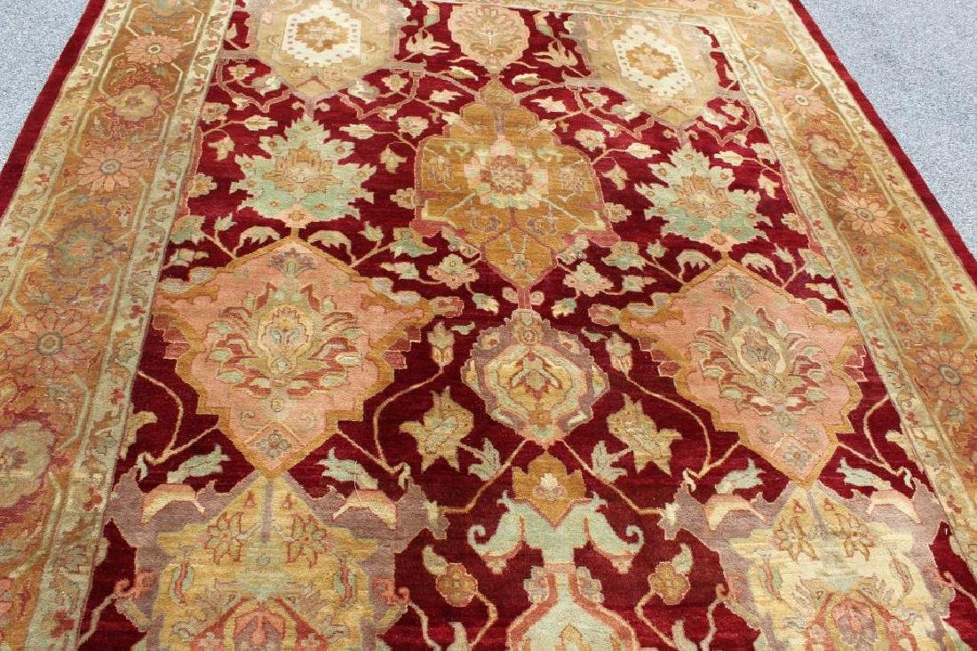 Finely Woven Vintage Roomsize Handmade Carpet. - 3