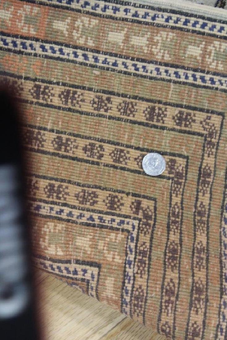 Lot of 2 Antique Finely Hand Woven Area Rugs. - 10