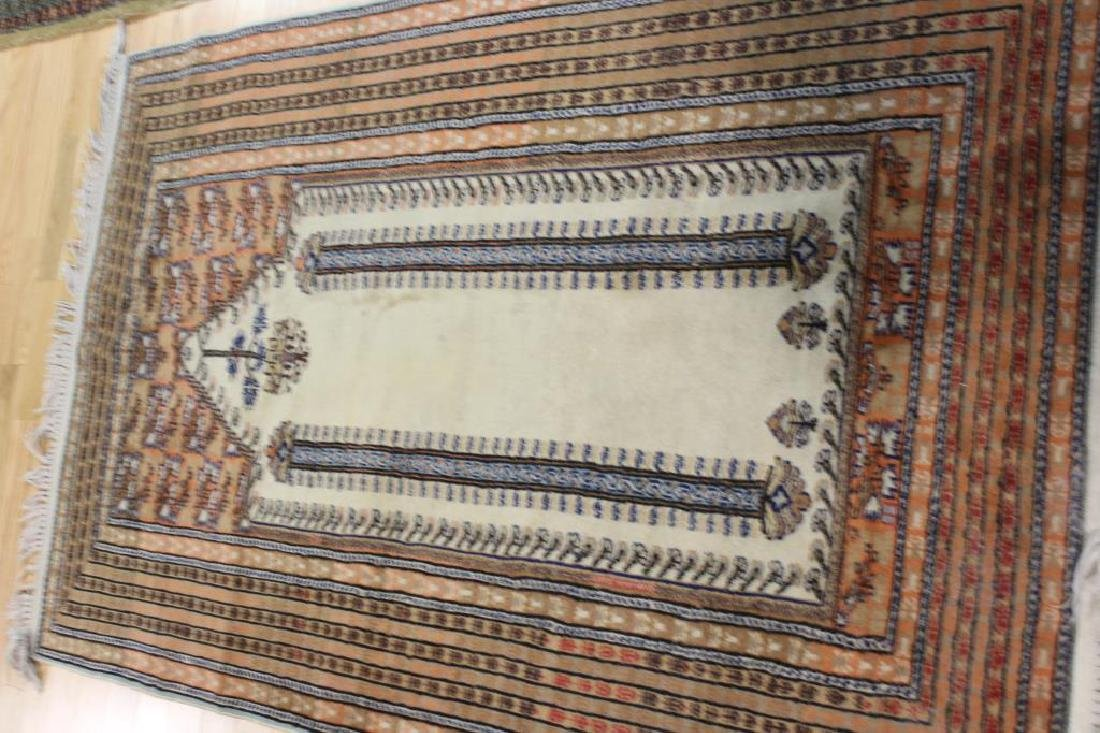 Lot of 2 Antique Finely Hand Woven Area Rugs. - 6