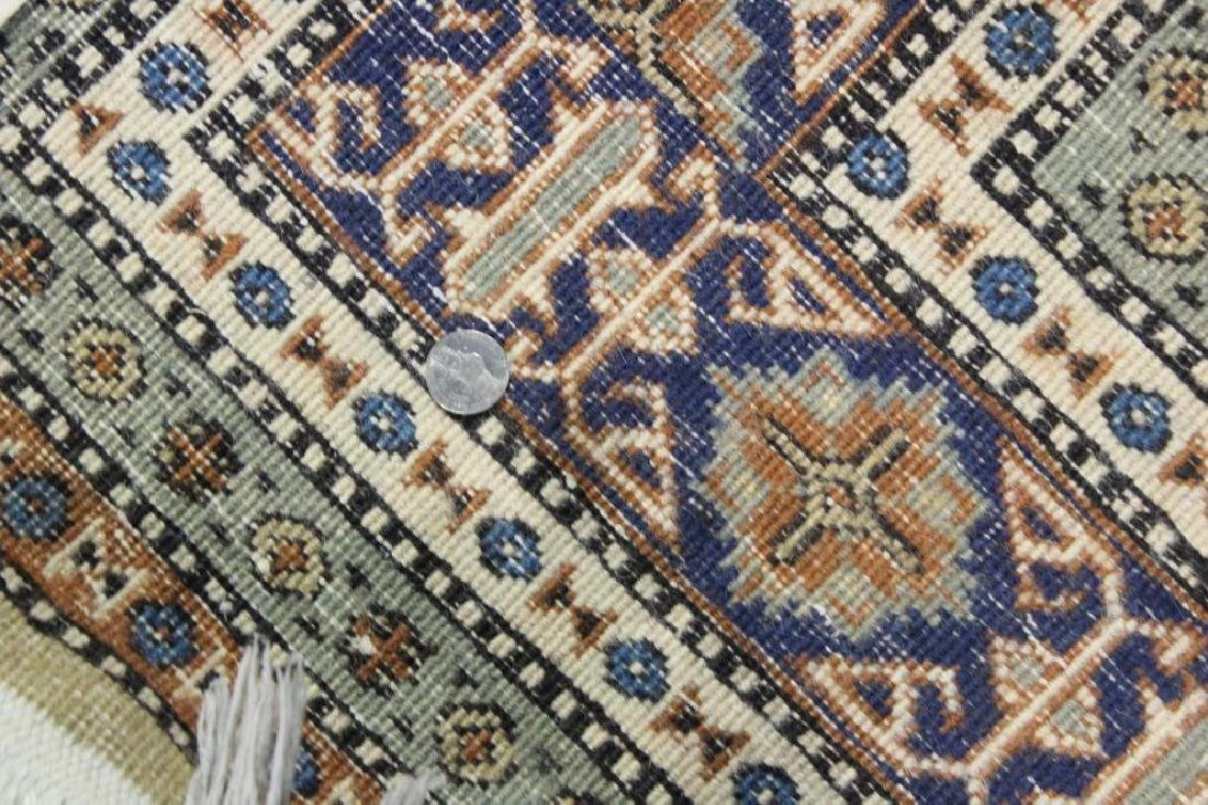 Lot of 2 Antique Finely Hand Woven Area Rugs. - 8