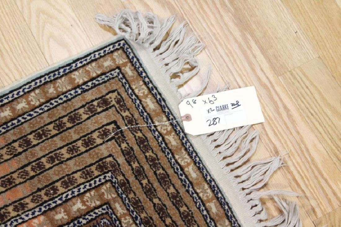 Lot of 2 Antique Finely Hand Woven Area Rugs. - 9