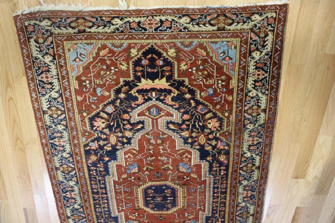 Antique and Finely Woven Sarouk Style Area Carpet. - 2