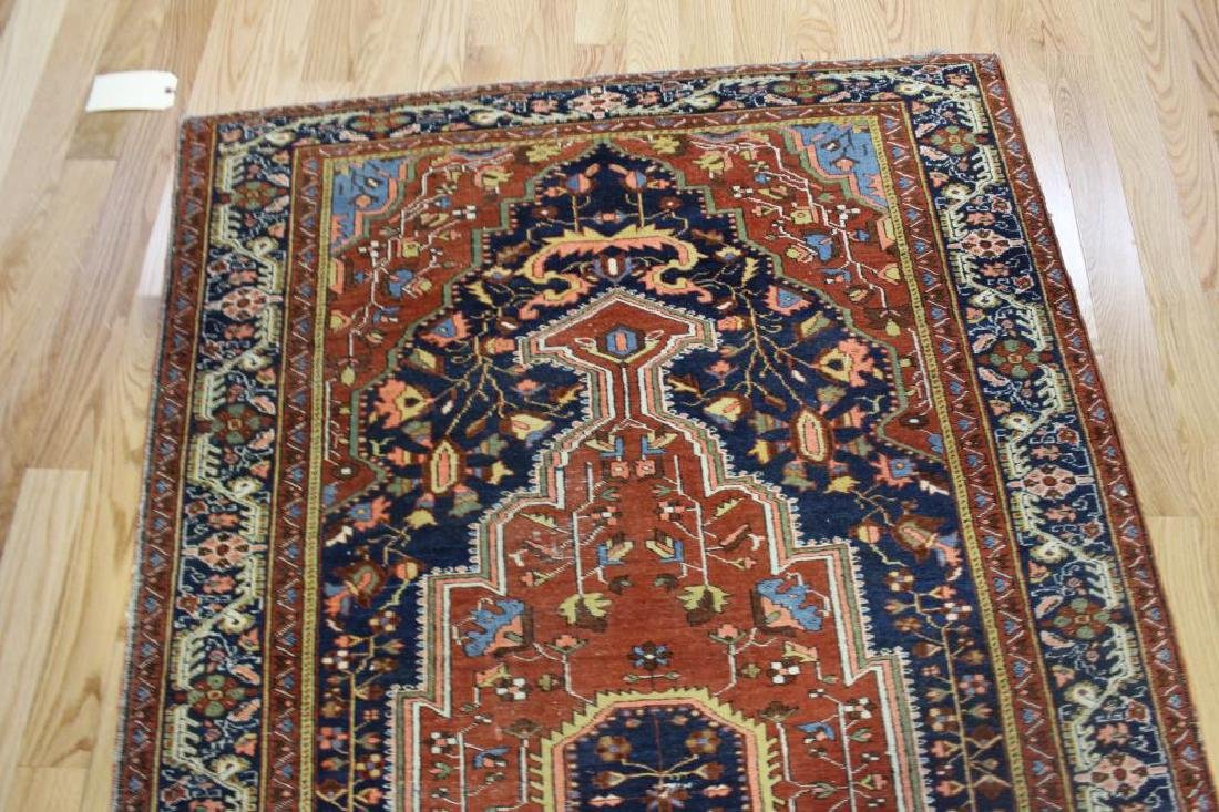 Antique and Finely Woven Sarouk Style Area Carpet. - 4
