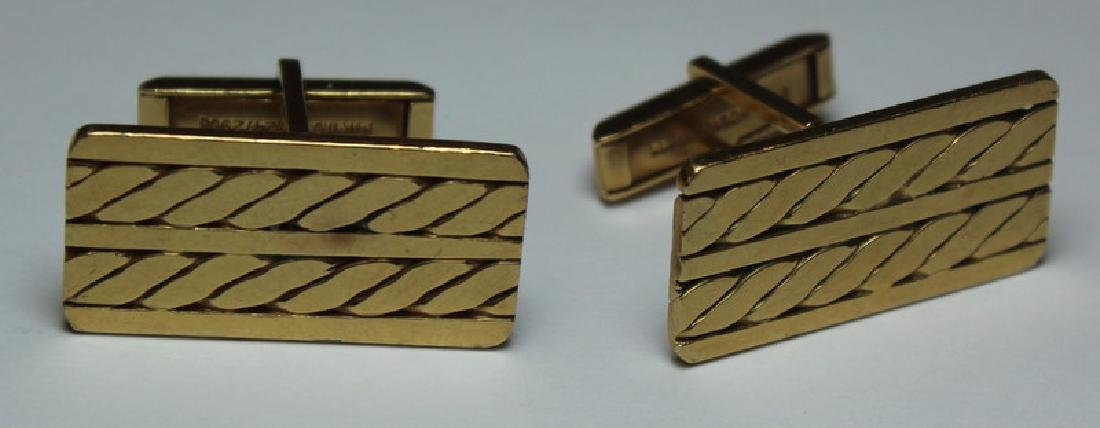 JEWELRY. Men's 14kt Gold Jewelry Grouping. - 4