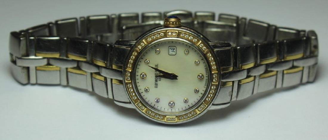JEWELRY. Ladies Raymond Weil Parsifal Dress Watch.