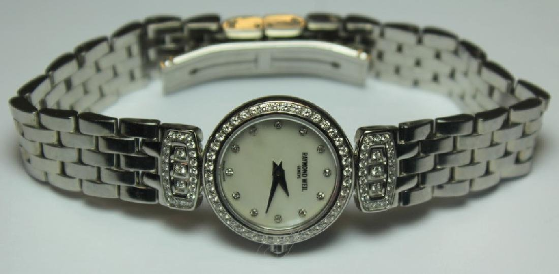 JEWELRY. Ladies Raymond Weil Chorus Link Dress