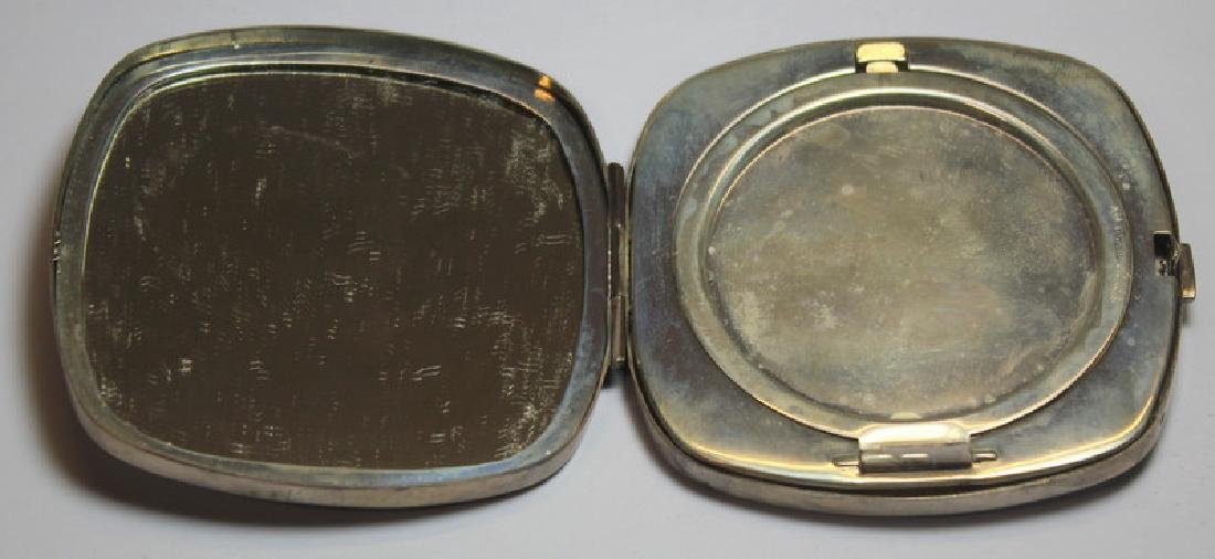 STERLING. Grouping of Silver Compacts Inc. Tiffany - 3