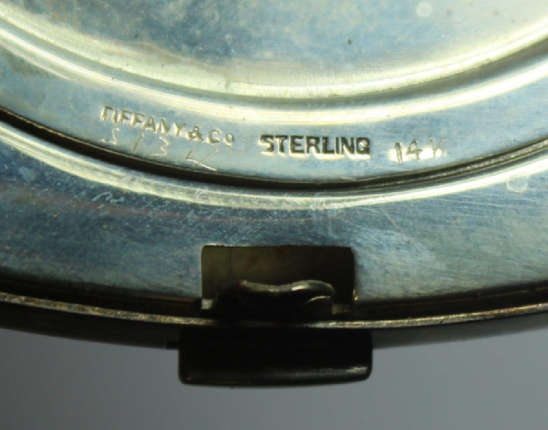 STERLING. Grouping of Silver Compacts Inc. Tiffany - 4