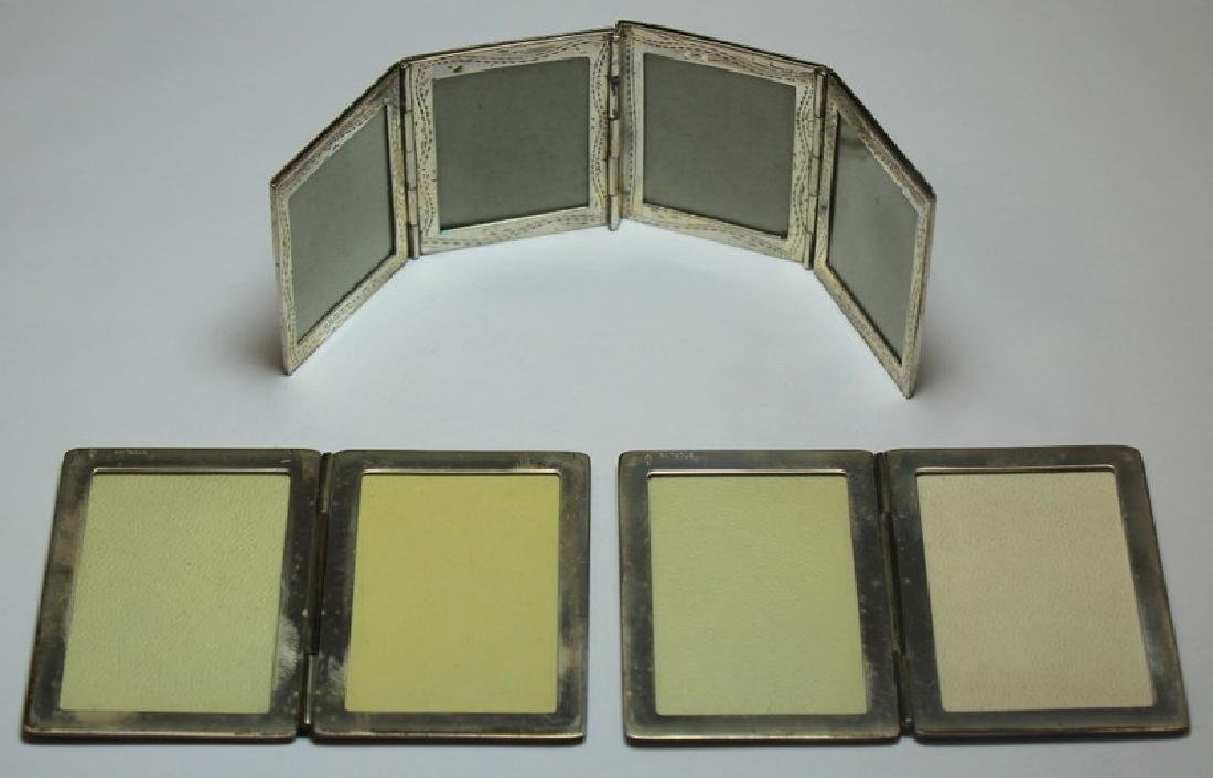 STERLING. Grouping of Silver Compacts Inc. Tiffany - 5