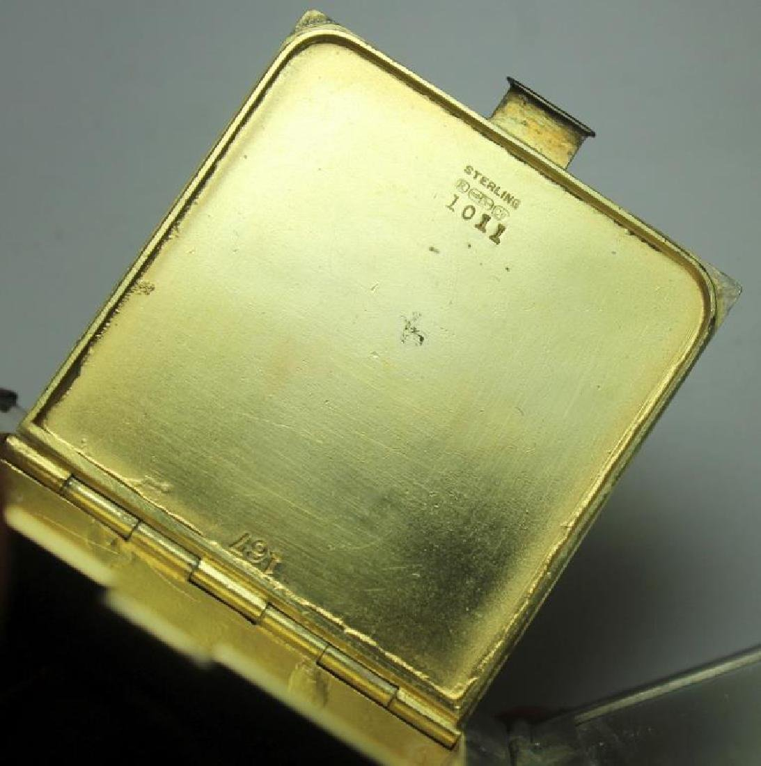 STERLING. Grouping of Silver Compacts Inc. Tiffany - 9