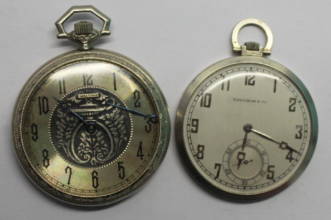 JEWELRY. Men's Pocket Watch Grouping.